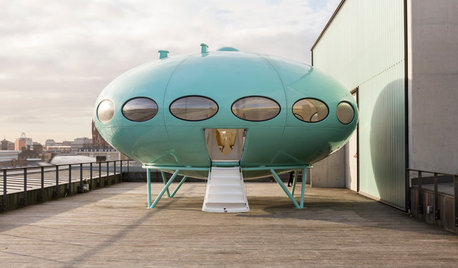Back to the Futuro! Wie ein Ufo-Haus in London landete