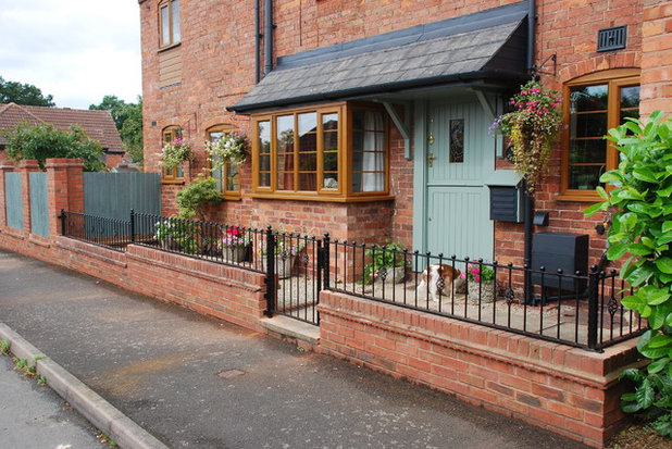 Traditional Exterior by SPW Ironworks