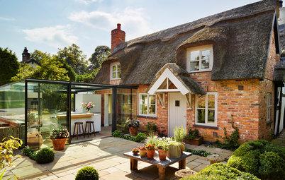 Cuisine de la Semaine : Une extension en verre pour un cottage anglais