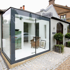 Eclectic Exterior by IQ Glass Rooms