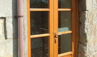 Glass External Door