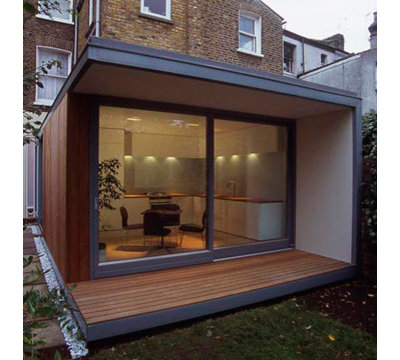 Modern Exterior by Hampson Williams