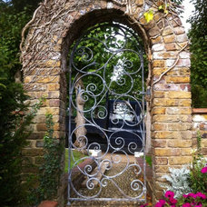 Traditional Landscape by Adrian Payne sculpture and Ironwork