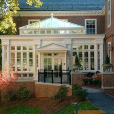 Traditional Exterior by Hampton Conservatories Ltd