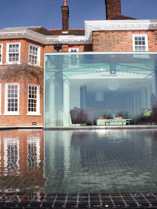 Glass Box House Houzz