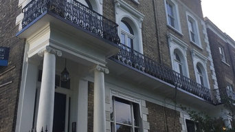 Highgate - restoration to facade & structural repairs & supports to balcony