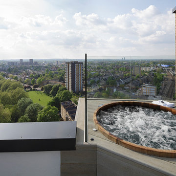 Hot tub with a view