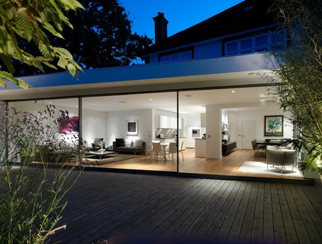 Contemporary Exterior by Gregory Phillips Architects