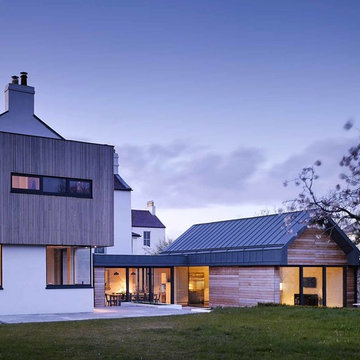House extension of Protected Structure in Dun Laoghaire, County Dublin