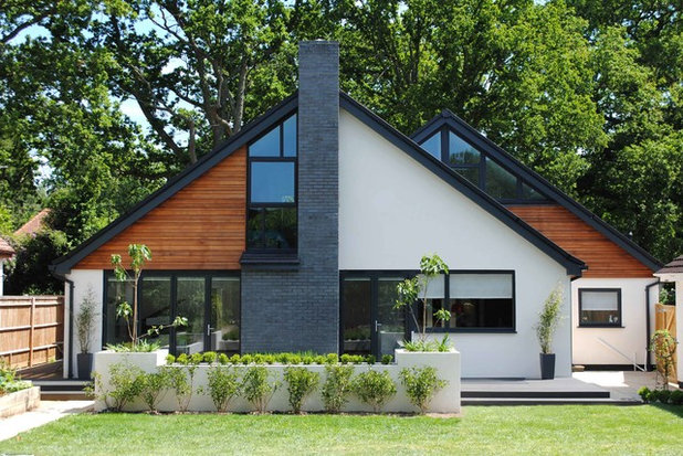 Contemporary Exterior by LA Hally Architect