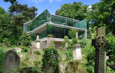 Casas Houzz: Una vivienda singular volcada a un cementerio londinense
