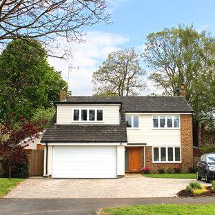 Contemporary exterior home idea in Devon