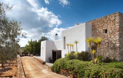Casas Houzz: De antigua granja a apacible villa cosmopolita en Ibiza