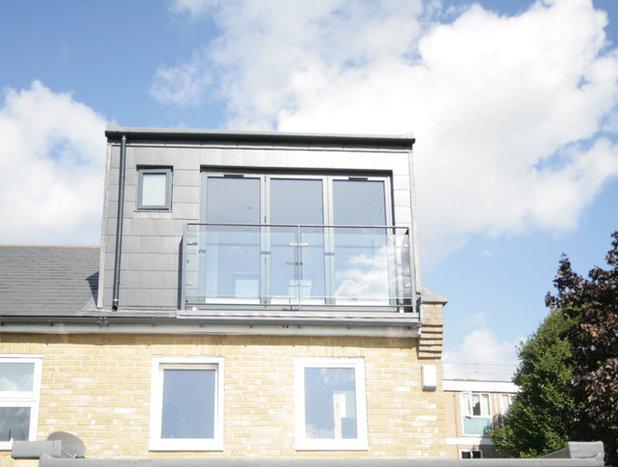 Contemporary Exterior by Ajax Builders London