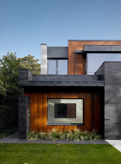 Современный Фасад by DK-Architects