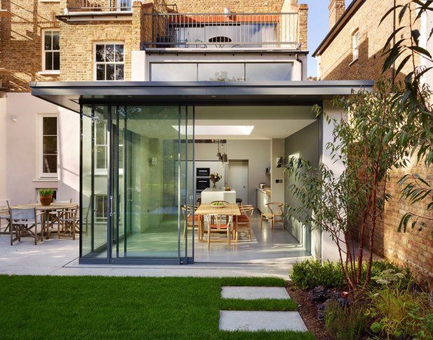 Contemporary outside by bulthaup by Kitchen Architecture