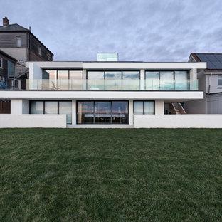 Contemporary exterior in Hampshire.