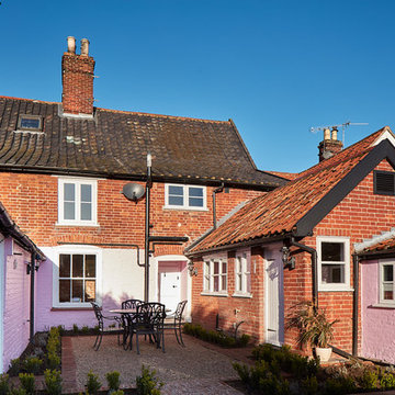 Listed building - interiors remodelled and outbuildings converted
