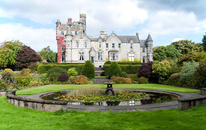 My Houzz: Winging It in a Scottish Castle
