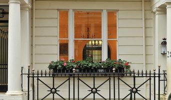 London Window Painting