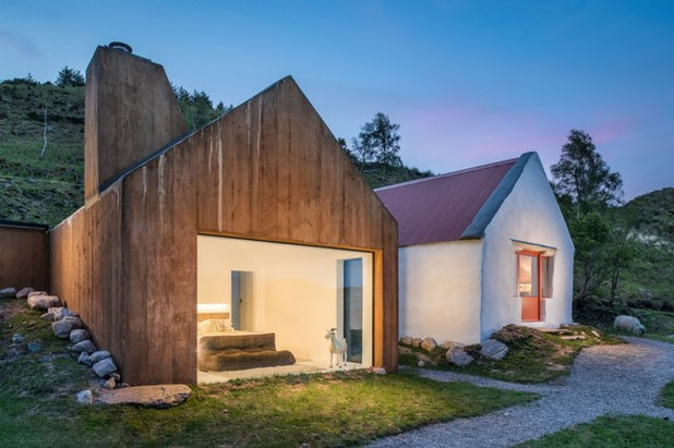 Rustic Exterior by Unique Homestays