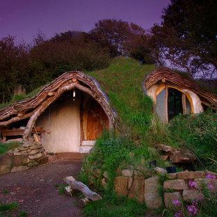 Idee per la facciata di una casa piccola eclettica