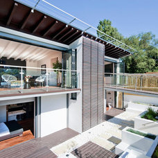 Contemporary Exterior by Luxe Interior International