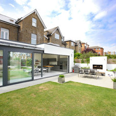 Contemporary Exterior by PAD Architects LLP