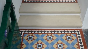 Multi Coloured Victorian Path Tiles 1