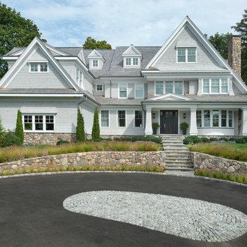 Nantucket Shingle Style Beachside Home Exterior