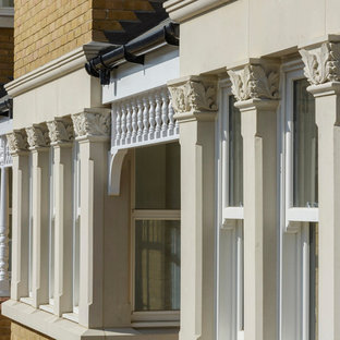 Example of an ornate exterior home design in London