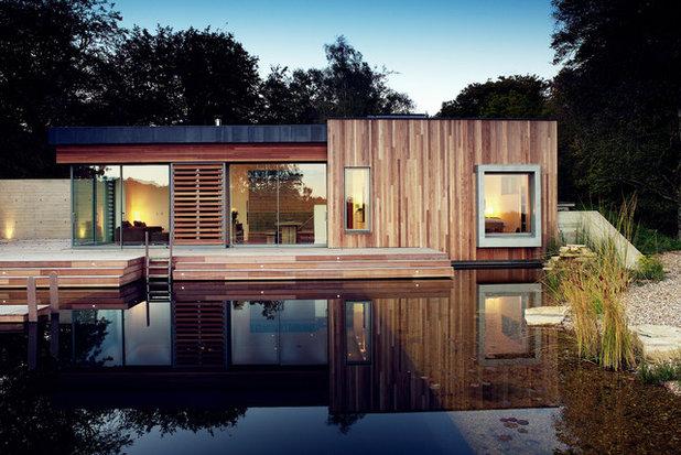 Minimalistisch Häuser by PAD studio