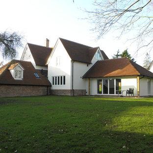 50 Cambridgeshire Exterior Home with a Hip Roof Design Ideas ...