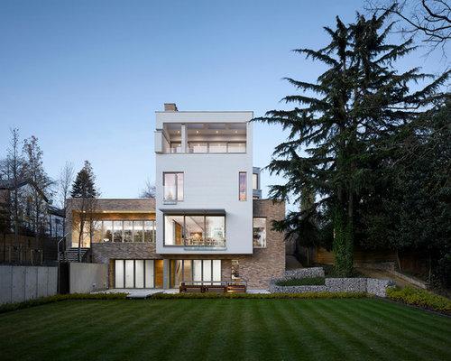 Other Facade Villa Moderne Home Design Ideas, Renovations & Photos