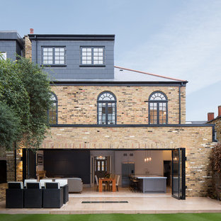 Design ideas for a contemporary exterior in London.