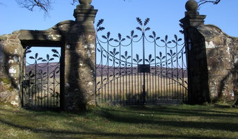 Oak Leaf gates