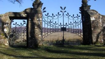 Oak Leaf gates