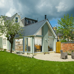 Oxford rear house extension photographed for Studio13 Architect