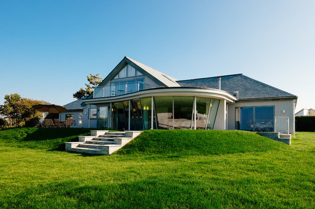 Houzz Tour: An Open-plan Retreat in Cornwall With a Modern Coastal ...