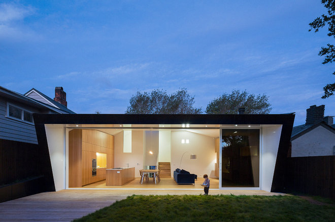 Contemporary Exterior by WHAT_architecture