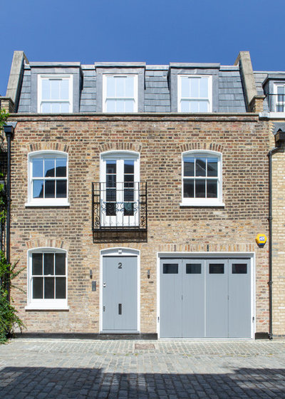 Architecture 10 ways to use a juliet balcony for Modern mansard roof