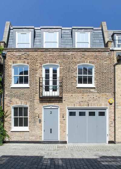 Современный Фасад дома by Lipton Plant Architects