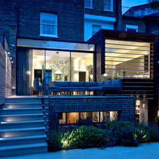 Contemporary Exterior by Harriet Forde Design Ltd