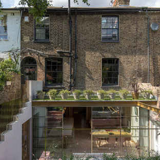 Inspiration for a classic house exterior in London.