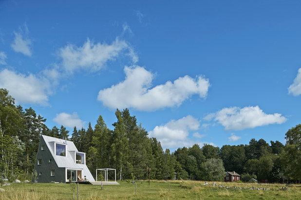 Скандинавский Фасад дома by Leo Qvarsebo
