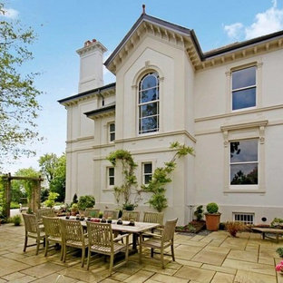 Design ideas for an expansive classic two floor detached house in Devon.