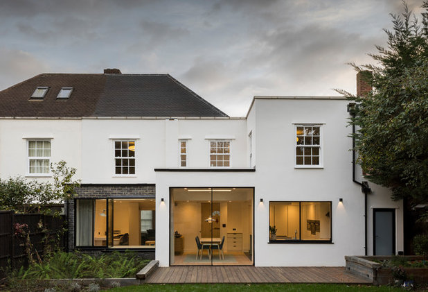 Contemporary Exterior by REES Architects