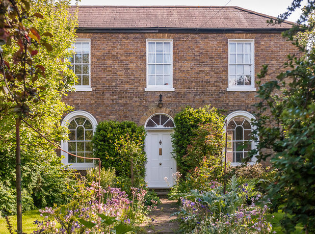 Traditional House Exterior by Mark Hazeldine Photography