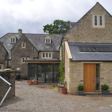Restoration and extension of grade 2 listed farmhouse