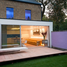Contemporary Exterior by IQ Glass UK
